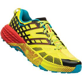 Hoka One One M's Speedgoat 2 Running Shoes black/evening primrose
